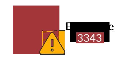 MS Access Error 3343