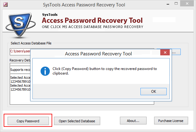 Access Password Recovery Tool to Remove Password from MDB