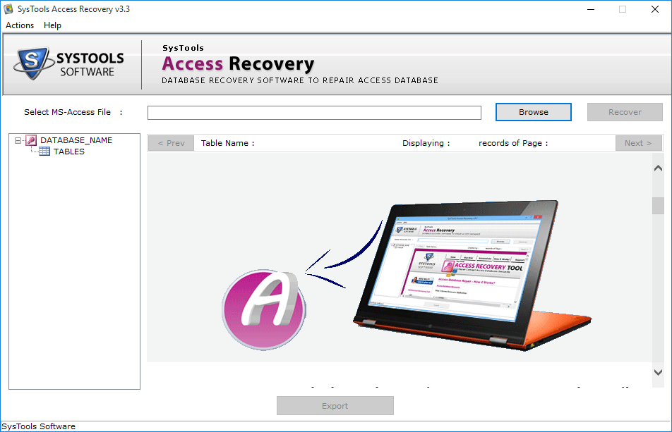 access recovery software