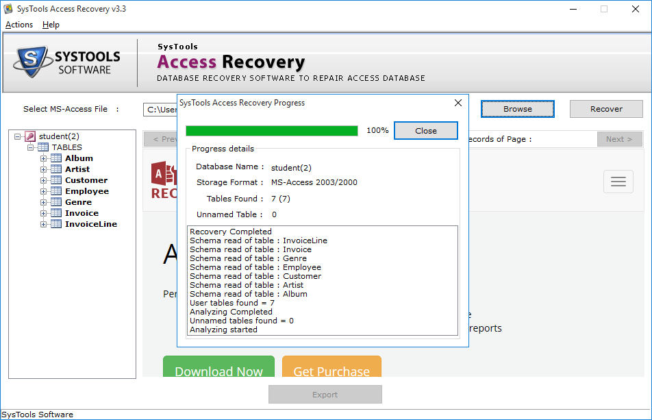 access database recovery tool