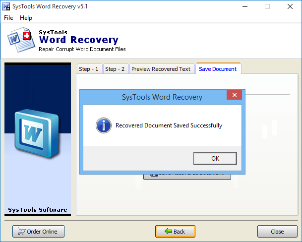 repair corrupt word file